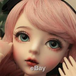 1/3 BJD Doll Makeup Reborn Girl Dolls With Shoes Eyes Beauty-Toys Kids Xmas Gift