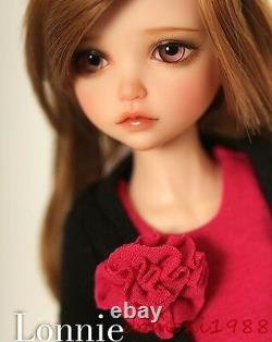 1/6 BJD Doll SD Doll Girl kid lonnie -Free Face Make UP+Eyes+Clothes+wig+Shoes