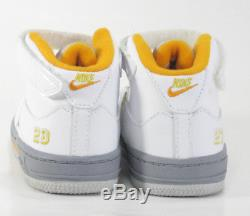 2007 Nike Air Jordan 5 Retro Fusion Toddlers Child SZ 8C 318611-181 Citrus