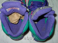 2013 Nike Air Jordan Retro 5 Tropical Teal Digital Pink Youth Shoes! Size 7Y