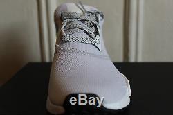 Adidas NMD R1 J Bright Cyan Gray White Kids Youth Boys Girls Sz 6