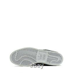 Adidas Originals Hardcourt Hi Junior Youth Kids Trainers Shoes Black UK 6.5