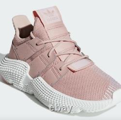 Adidas Originals Prophere Running Shoes Trace Pink White Size 5Y B41881 New