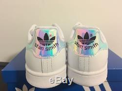 e6d1c852f ... shop adidas stan smith iridescent hologram aq6272 gs kids girls 3.5y 7y  womens 5 8.5