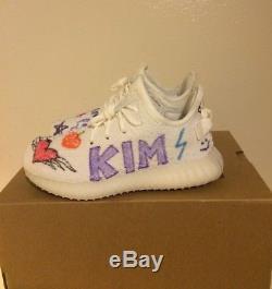 Adidas Yeezy Boost 350 V2 Infant Cream White SIZE 10K KIM kids supply BB6373