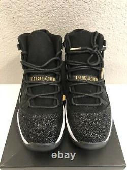 Air Jordan 11 Retro Heiress Black Stingray Shoes Size 5.5 Y