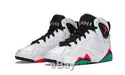 67c9103aec6 Air Jordan 7 Retro 30th Marvin Gg Girl Big Kids Shoes Verde 705417 138 9.5y