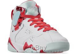 Air Jordan 7 Retro (PS) Pre-School Shoes Topaz Mist 442961-104 (PS) Size 12 & 13