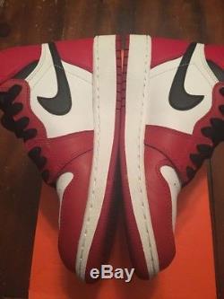 Air Jordan Retro 1 GS Chicagos Size Boys 4.5 Girls 6 Kids 100% Authentic