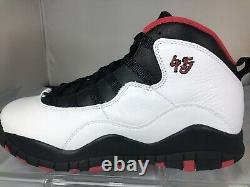 Air Jordan Retro X 10 Size 7Y/8.5 Girls BG Double Nickel 45 Shoe 310806-102