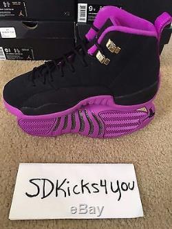 Air Jordan Retro XII 12 Hyper Violet Grade School GG GS Youth Girls Kids Shoes