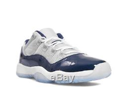 Air Jordan XI 11 Georgetown size 3.5y GS Girls Kids Boys Youth Nike 528896 007