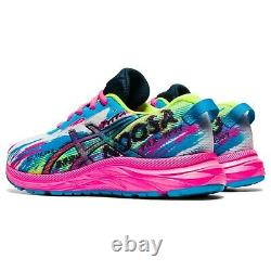Asics Gel-Noosa Tri 13 Gs childrens Pink Blue Girls Kids Shoes Size 1014A209-401
