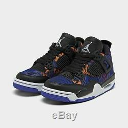 Authentic Girls' Big Kids' Air Jordan Retro 4 Se Basketball Shoes