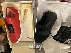 BNIB 2X Boys Shoes Size 36 UK 3 Moncler Fendi Genuine