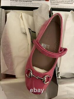 BNIB 2X Girls Shoes Prada Gucci Size 24 UK 7 Genuine