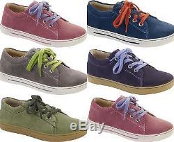 Birkenstock Shoes Arran Kids Women Suede Leather Casual Lace-up Boys Girls