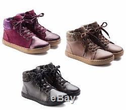 Birkenstock Shoes Bartlett Kids Tabacco Plum Asphalt Girls Boys Women's Boots