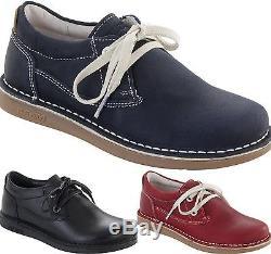 Birkenstock Shoes Memphis Dark Blue Black Red Kids Girls Boys Men's Lace Up