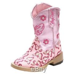 Blazin Roxx Western Boots Girls Pecos Cowboy 13.5 Child Pink 4451030