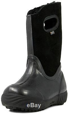 Bogs Muck Boots Girls Kids Prairie Solid Waterproof Suede 71838