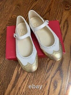Bonpoint Girls Shoes Size 30 New In Box