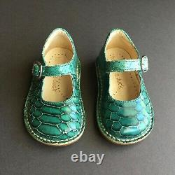 Bu and the Duck Tribeca New York City Snakeskin Mary Jane Shoes Made in Italy