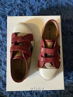 Burberry Shoes kids Sz 29 US Sz 11.5