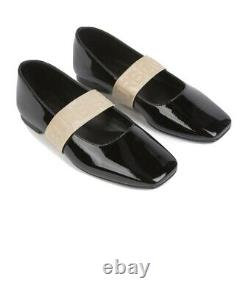 Burberry flat Girl shoes Leather New With Tags & Box
