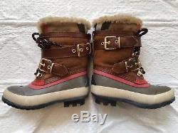 Burberry mini me windmere apres ski boots girls toddlers kids Childrens size 27
