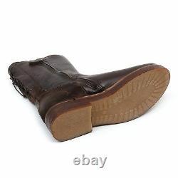 C1252 stivale bimba MOMINO SISTERON scarpa stivaletto marrone scur boot shoe kid