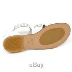 C9674 sandalo bimba SIMONETTA scarpa bianco borchie shoe kid girl