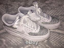Children's Girls Nike Air Max 90 Customised Trainers Any Colour Size 13 2.5