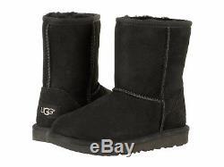Children's Shoes UGG Kids Classic II Sheepskin Boot 1017703K Black New