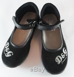 D&G Junior Girls Kids Shoes Brand New Italian Size 29