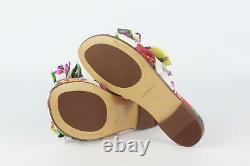 Dolce And Gabbana Kids Girls Floral Satin Shoes Eu 30 Uk 12