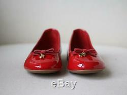 Dolce And Gabbana Kids Girls Patent Leather Shoes Eu 28 Uk 10