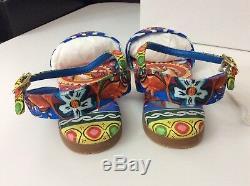 Dolce & Gabbana D&G NEW bnib Sandals Shoes Size 35 Uk 2.5 Rrp £254