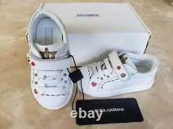Dolce Gabbana D&G kids baby girls boys shoes sneakers size 22 BRAND NEW