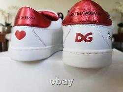 Dolce Gabbana D&G kids baby girls boys shoes sneakers size 25