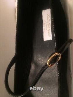 Dolce Gabbana Girls Black Patent Leather Ballerina Shoes Size 38