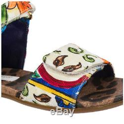 Dolce&gabbana Girls Sandals Child New White A64