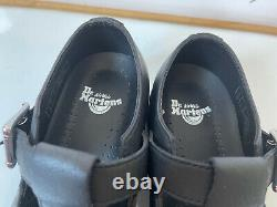Dr. Marten Polley pw Black Leather Casual Shoes Size UK 3 EU 36