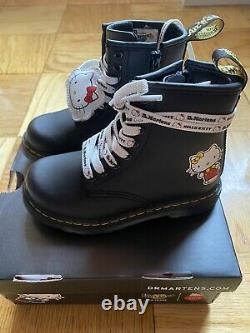 Dr Martens Hello Kitty shoes Heart Hall boots kids 60th anniversary UK 9 US 10