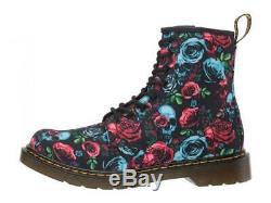 Dr. Martens Kid's Collection Girl's 1460 Rose Fantasy Boot (Big Kid) Rose