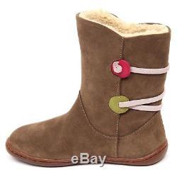 E2038 (without box) stivale bimba brown CAMPER TWINS scarpe boot shoe kid girl