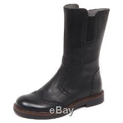 E2448 stivale inglese bimba nero MOMINO ALFA scarpe boot shoe kid girl