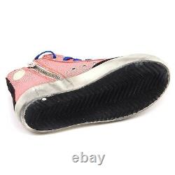 E8348 sneaker bimba girl orange/silver GOLDEN GOOSE FRANCY scarpe vintage shoe