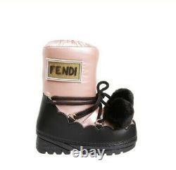 Fendi Kids Shoes Pom Pom Snow / Moon Boots / Shoes. Size 1 / 33 Designer