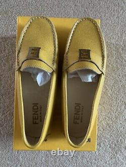 Fendi Kids Unisex Loafers shoes size UK 13 / 32 for Boys And Girls RRP £345